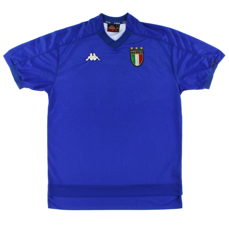 1998-00 Italy Home Shirt L