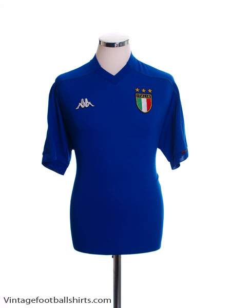 1998-00 Italy Home Shirt *Mint* L