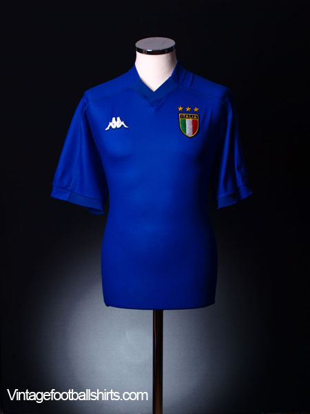 1998-00 Italy Home Shirt XL