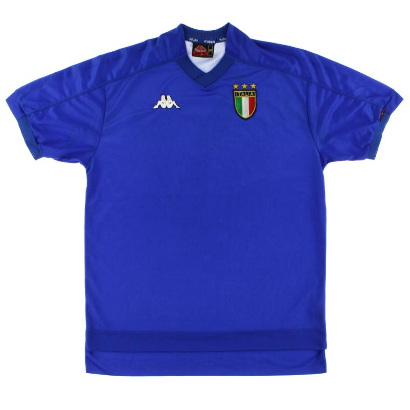 1998-00 Italy Home Shirt XL