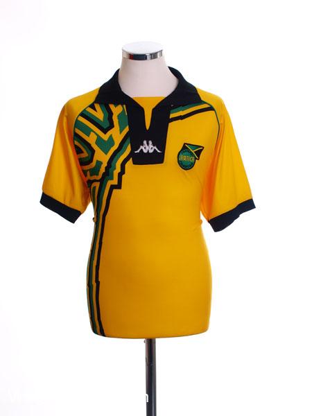 1998-00 Jamaica Home Shirt M