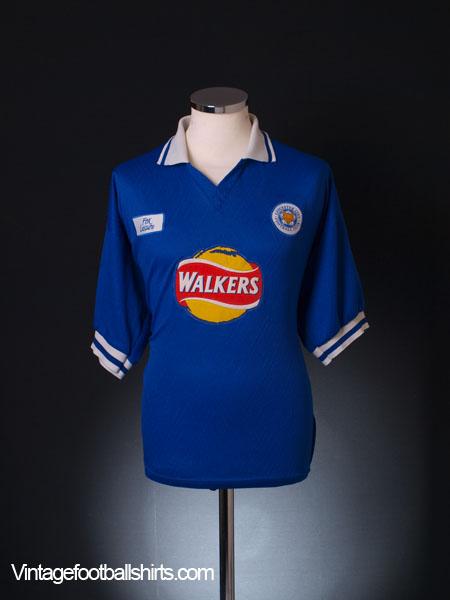 1998-00 Leicester Home Shirt XL