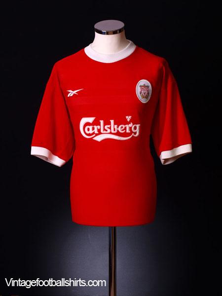 1998-00 Liverpool Home Shirt *Mint* XXL