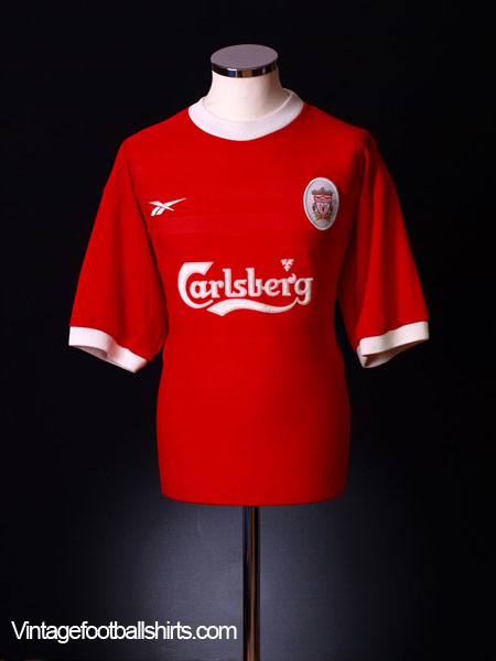 1998-00 Liverpool Home Shirt M