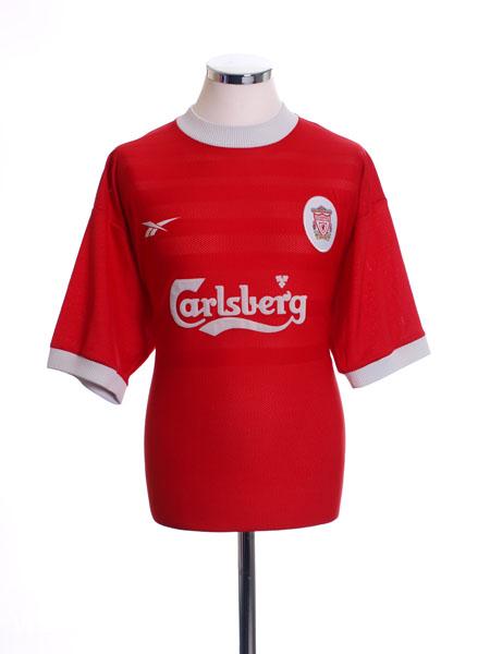 1998-00 Liverpool Home Shirt M