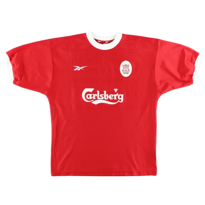 1998-00 Liverpool Home Shirt *Mint* L