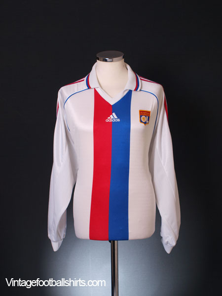 1998-00 Lyon Home Shirt L/S XL
