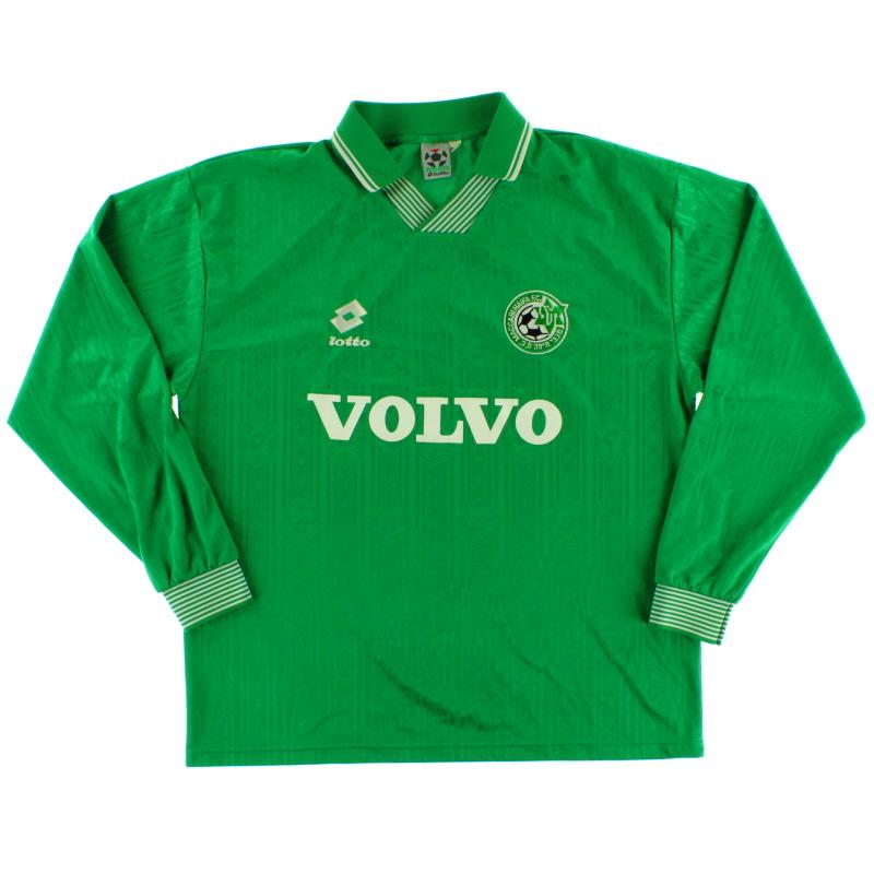 1998-00 Maccabi Haifa Home Shirt L/S XL