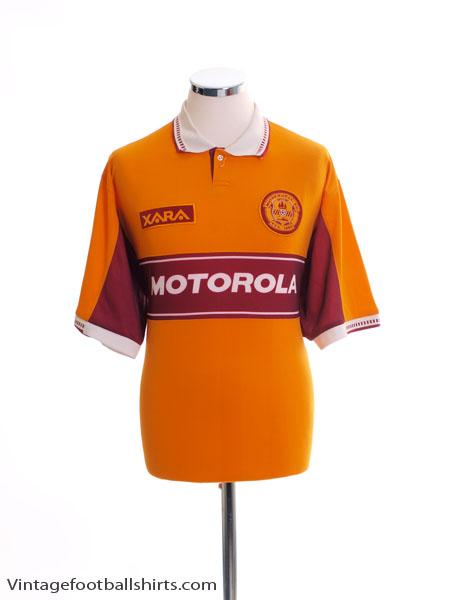 1998-00 Motherwell Home Shirt L