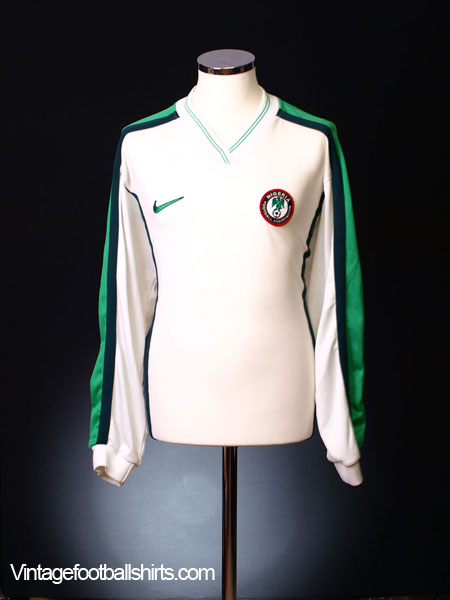 1998-00 Nigeria Away Shirt L/S *BNWT* L