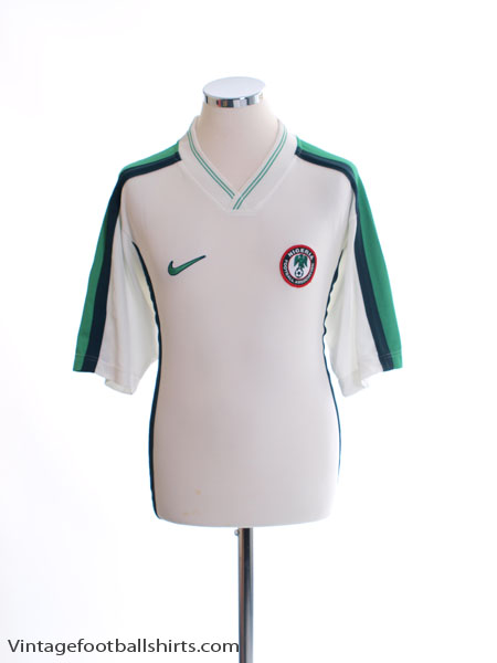1998-00 Nigeria Away Shirt M