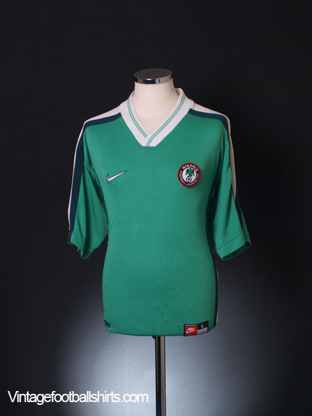 1998-00 Nigeria Home Shirt L