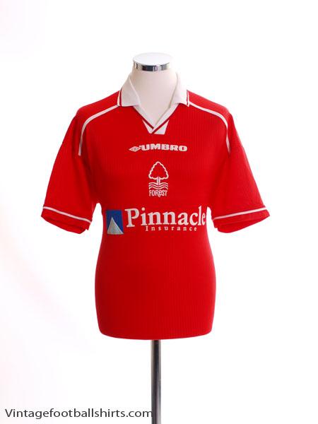 1998-00 Nottingham Forest Home Shirt M
