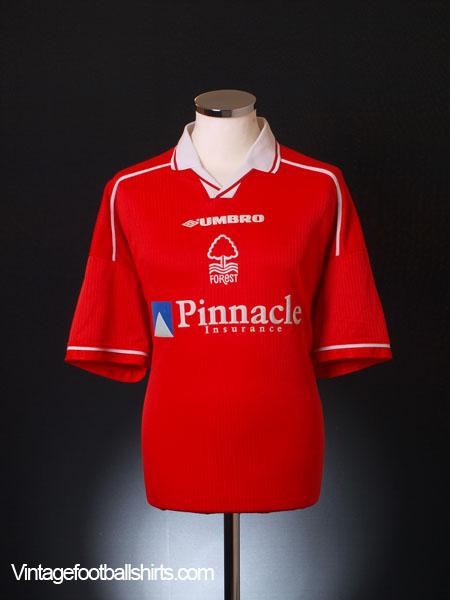 1998-00 Nottingham Forest Home Shirt XXL