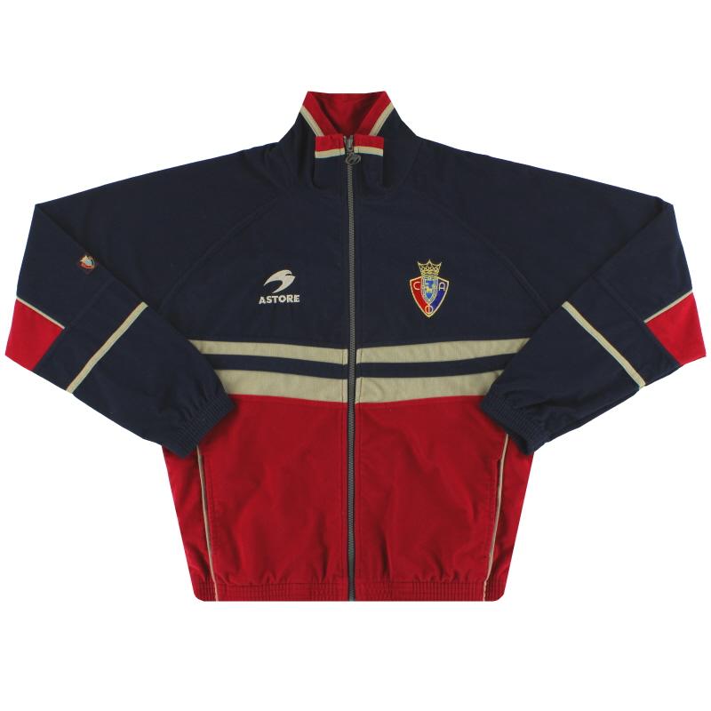 1998-00 Osasuna Astore Track Jacket S