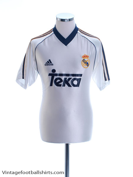 1998-00 Real Madrid Basic Home Shirt M