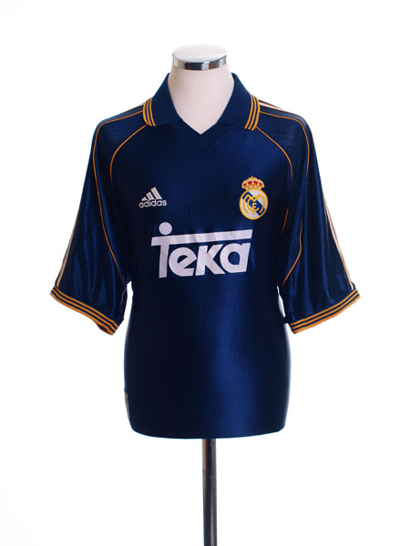 1998-00 Real Madrid Third Shirt L