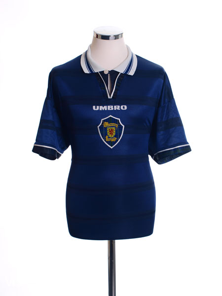 1998-00 Scotland Home Shirt L