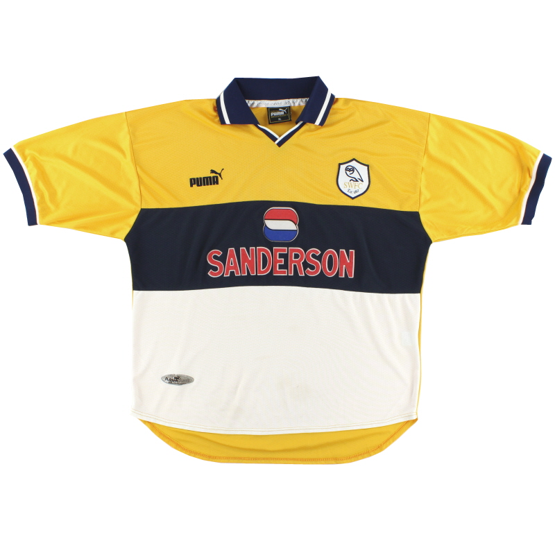 1998-00 Sheffield Wednesday Puma Away Shirt XL