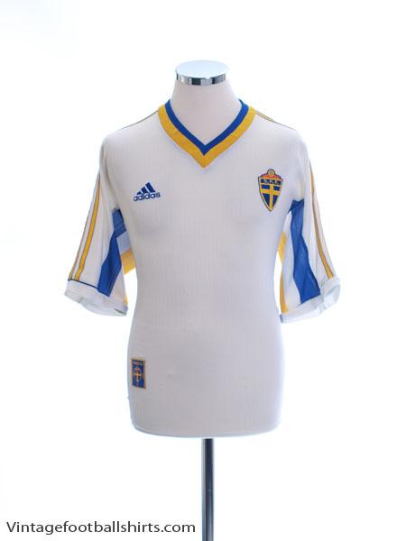 1998-00 Sweden Away Shirt M