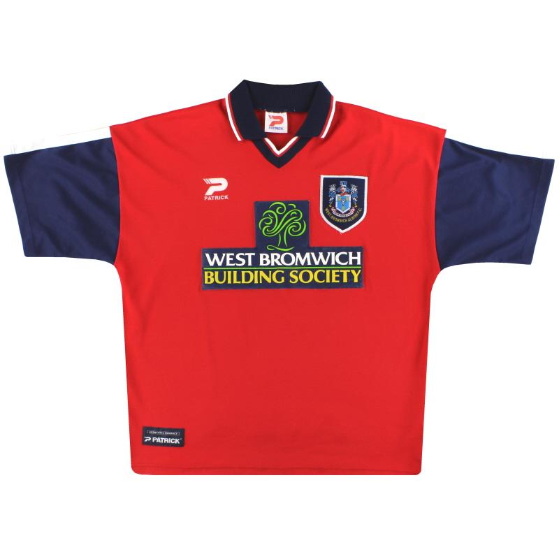 1998-00 West Brom Away Shirt XL
