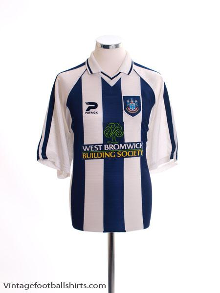 1998-00 West Brom Home Shirt XL
