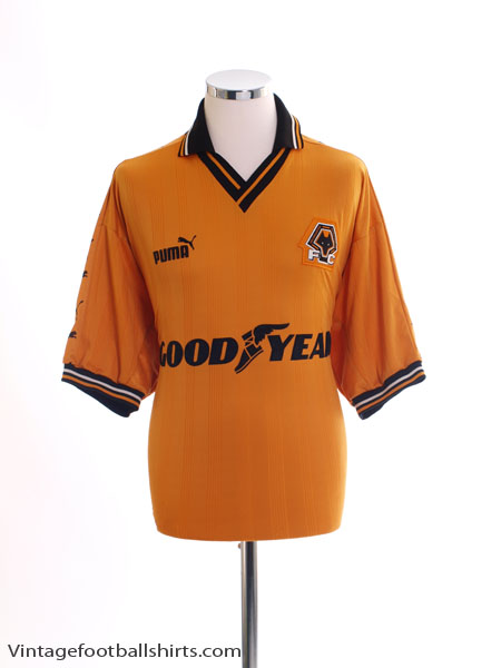 1998-00 Wolves Home Shirt M