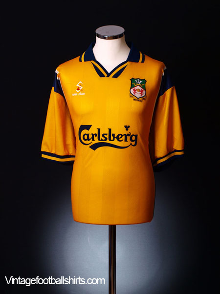 1998-00 Wrexham Away Shirt M