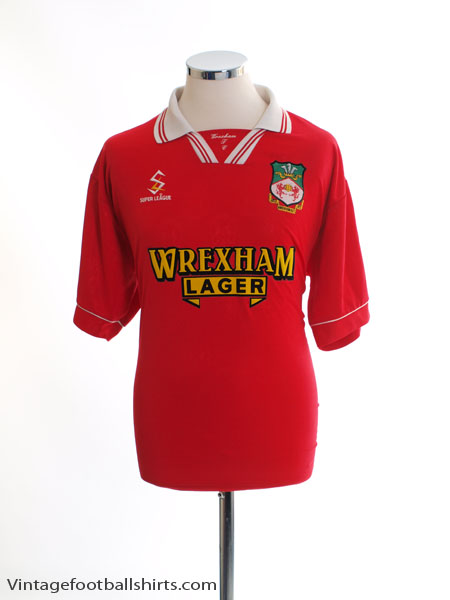 1998-00 Wrexham Home Shirt XXXL