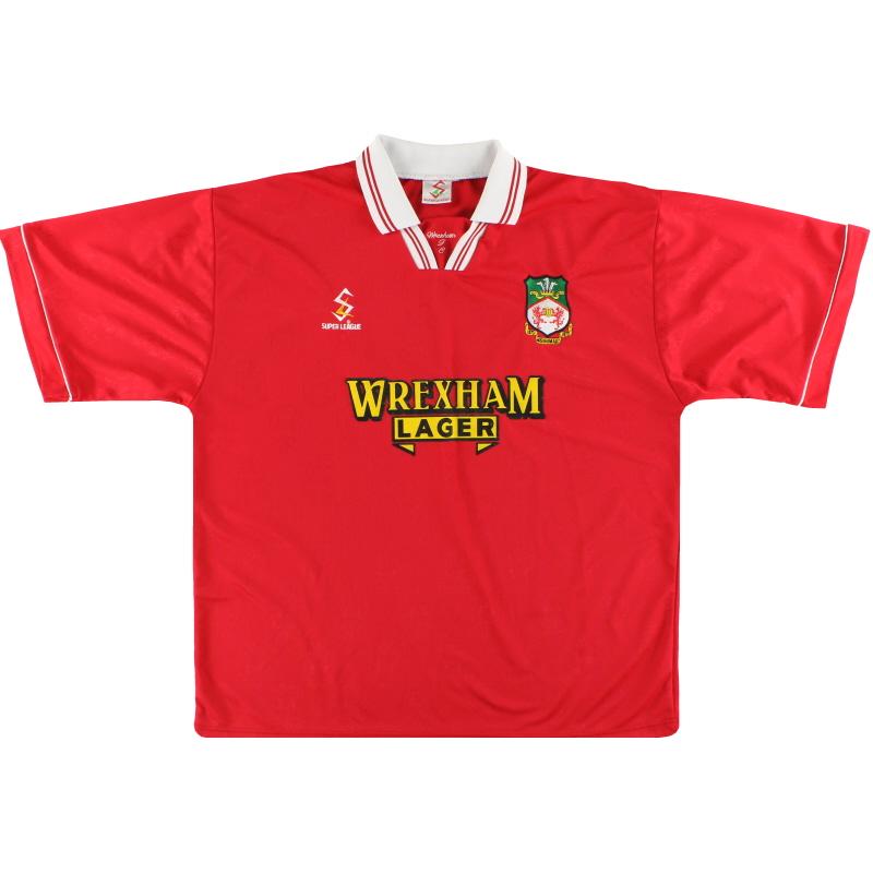 1998-00 Wrexham Home Shirt XL