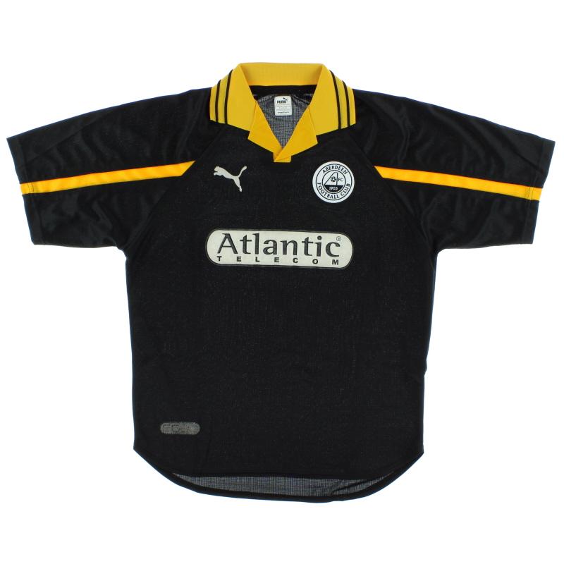 1998-01 Aberdeen Away Shirt M