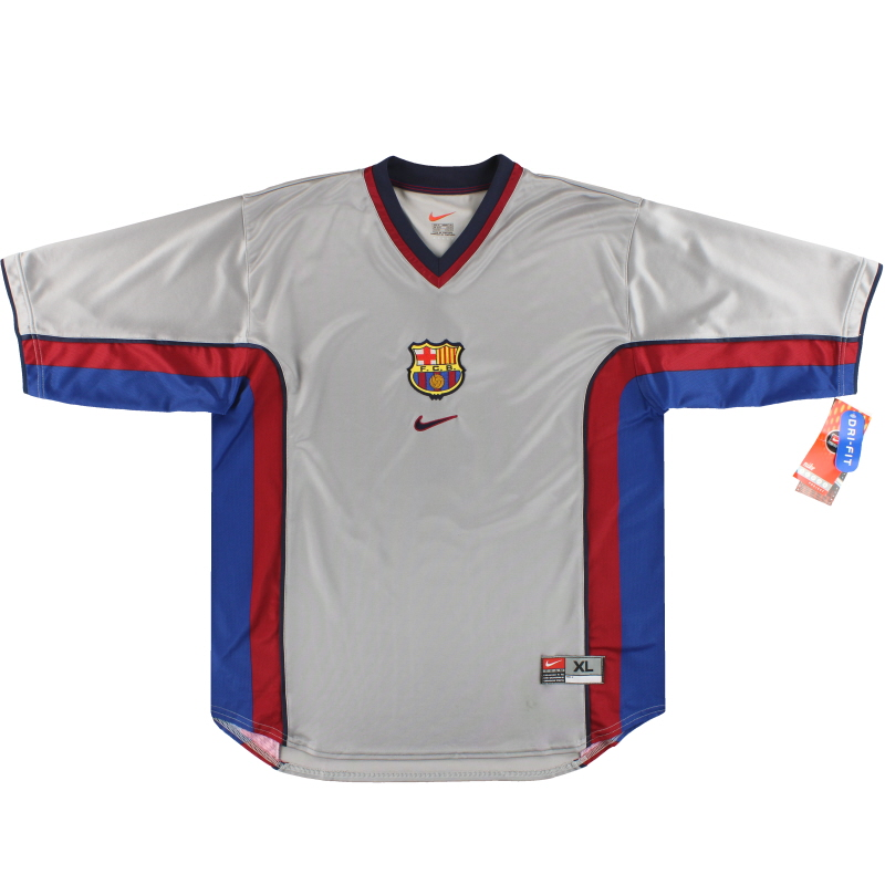 1998-01 Barcelona Nike Away Shirt *w/tags* XL - 162089-070