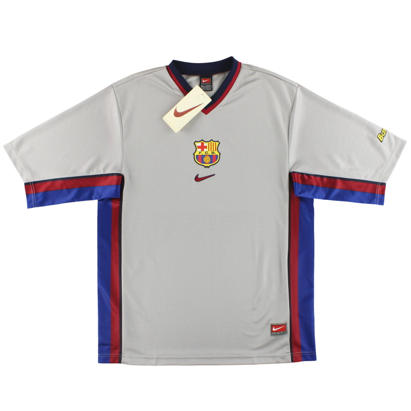 1998-01 Barcelona Nike Basic Away Shirt *BNIB* XL - 162090