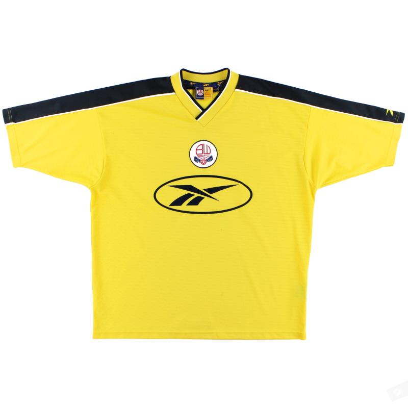 1998-01 Bolton Reebok Away Shirt *As New* L