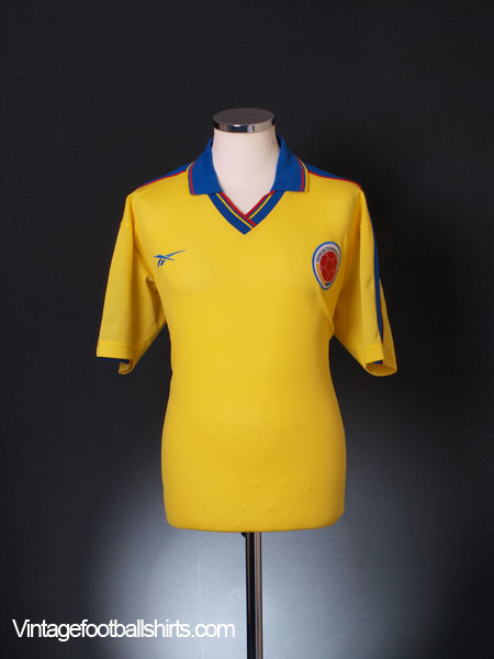1998-01 Colombia Home Shirt M