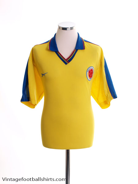 1998-01 Colombia Home Shirt XL