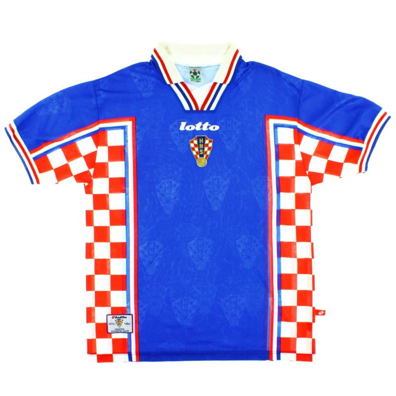 1998-01 Croatia Away Shirt L