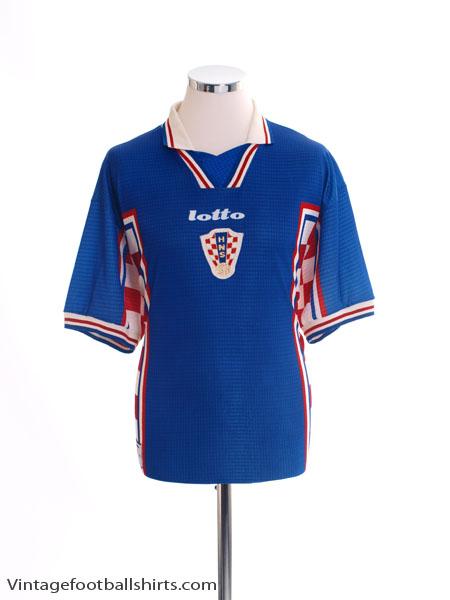 1998-01 Croatia Away Shirt XL