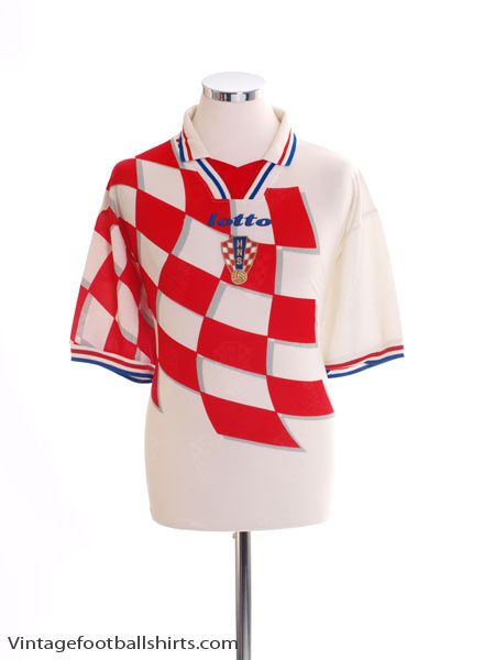 1998-01 Croatia Home Shirt XXL
