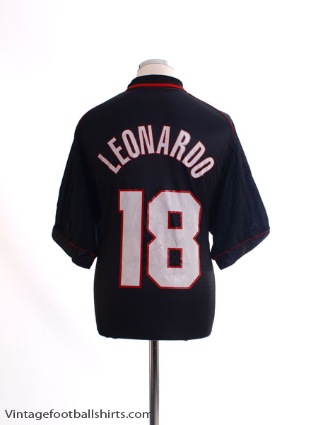 1998-99 AC Milan Third Shirt Leonardo #18 XL