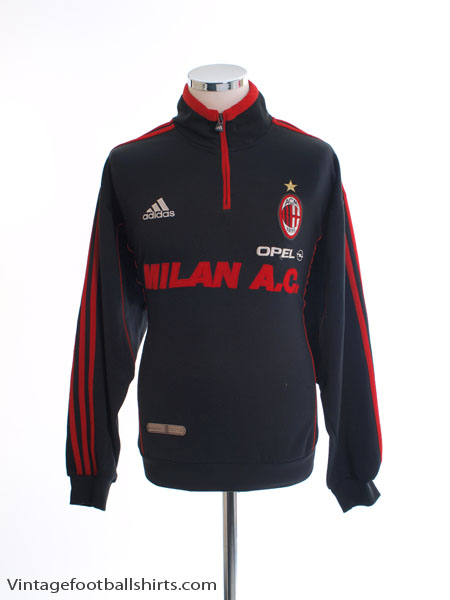 1998-99 AC Milan adidas Training Jacket L
