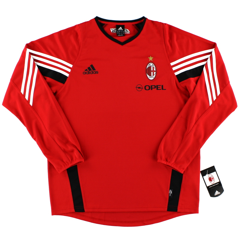 1998-99 AC Milan Training Shirt L/S *BNWT* XL