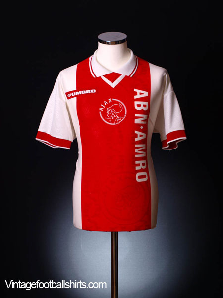 1998-99 Ajax Home Shirt *Mint* L