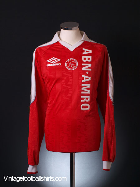 1998-99 Ajax Training Shirt L/S XL