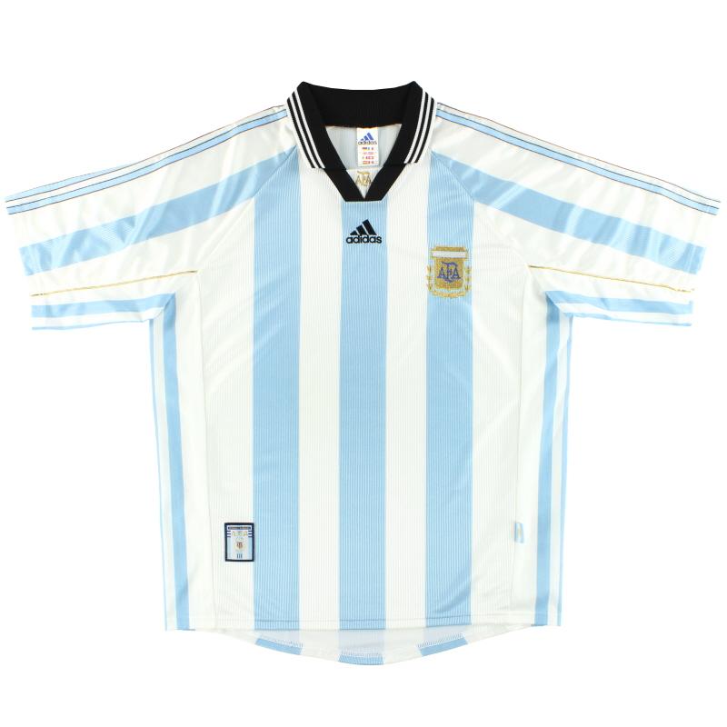 1998-99 Argentina adidas Home Shirt L