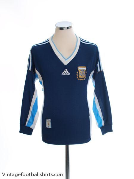 1998-99 Argentina Away Shirt L/S XS