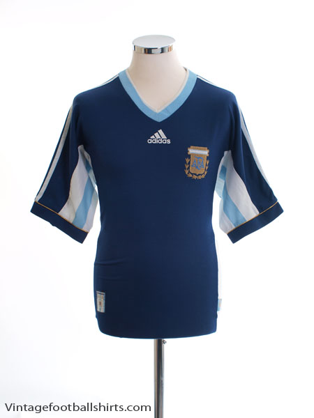 1998-99 Argentina Away Shirt M