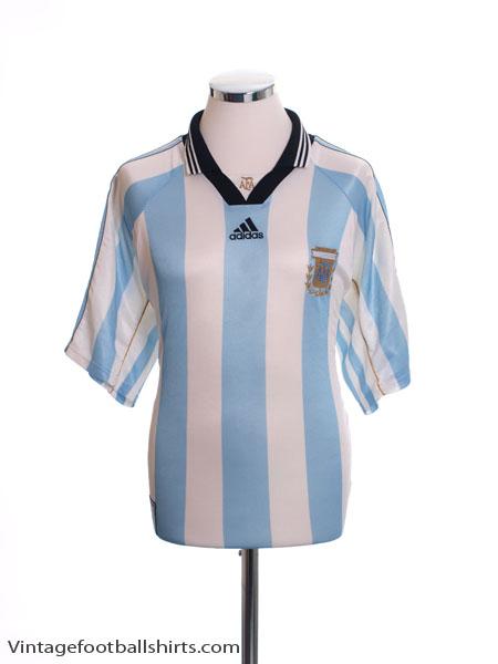 1998-99 Argentina Home Shirt L.Boys - 16584