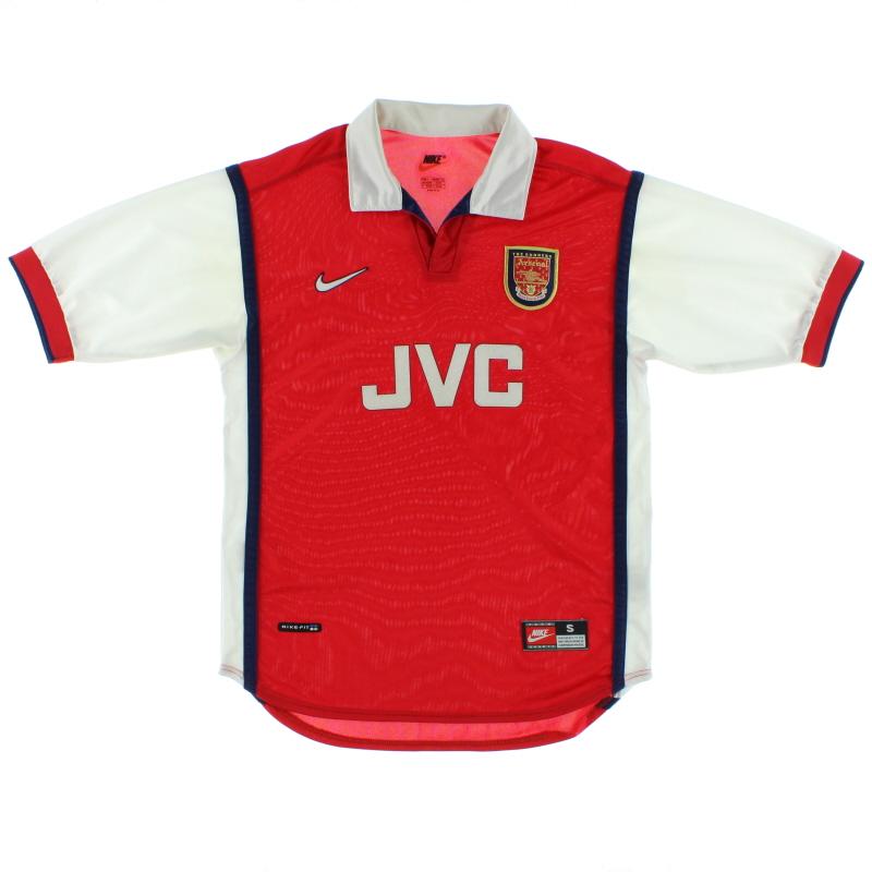 1998-99 Arsenal Home Shirt S