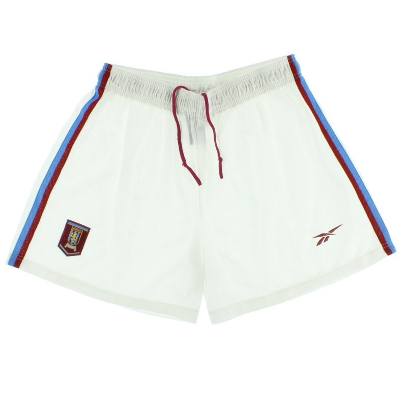 1998-99 Aston Villa Reebok Home Shorts XL